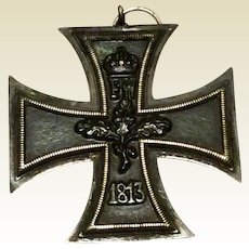 World War I German Iron Cross Of The 2nd Class