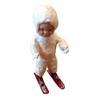 Vintage 1991 Snow Children From St. Nicholas Collection By Elaine Roesle Limited Edition
