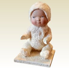 Vintage 1991 Artist Signed Snow Children From St. Nicholas Collection By Elaine Roesle Limited Edition.
