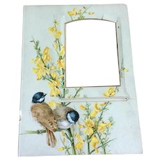 Mat Frame From Victorian Photo Album
