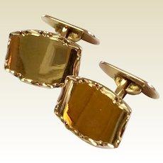 Classic Gold Filled Cufflinks