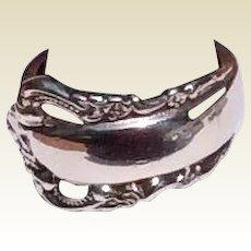 Vintage Sterling Silver Spoon Ring