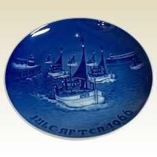 Vintage Royal Copenhagen B & G 1966 Christmas Plate