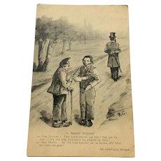 World War I Postcard Norte Depute