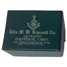 Vintage M. W. Bassett Co. Jewelry Display Box