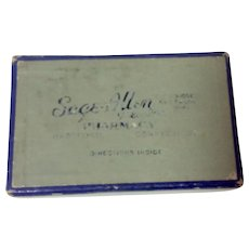 Vintage Sage-Allen Pharmacy Medicine Box