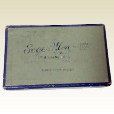 Vintage Sage-Allen Pharmacy Medicine Box