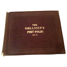 The Organist's Portfolio Vol. II By Edward F. Rimbault