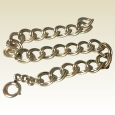 Vintage Gold Filled Charm Bracelet
