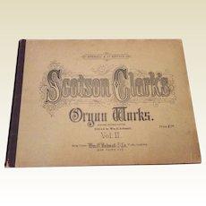 1891 Scotson Clark's Organ Works