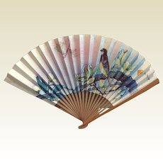 Vintage Oriented Hand Fan