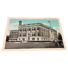 Vintage New High School Pekin Illinois