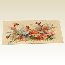 Victorian Chromolithograph Scrap