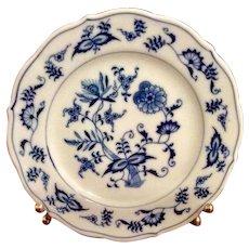 Vintage Blue Danube Blue Onion Bread u0026 Butter Plate  sc 1 st  Ruby Lane & Danube Blue Porcelain u0026 Pottery | Ruby Lane