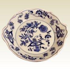 Vintage Blue Danube Blue Onion Individual Augratin Dish