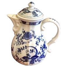 Vintage Vienna Woods Blue Onion Coffee Pot
