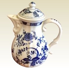 Vintage Vienna Woods Blue Onion Coffee Pot
