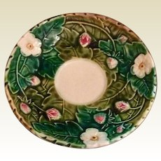 French Majolica Saucer