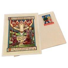 1945 Vintage Religious Card