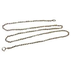 "Vintage 18"" 835 Silver Chain"