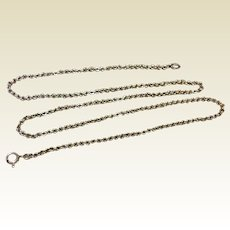 "Vintage 18"" 835 Silver Chain"