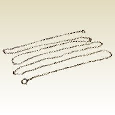 "Sterling Silver 25"" Chain 925"