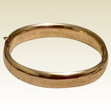 Winard 12K Gold Filled Bangle Bracelet