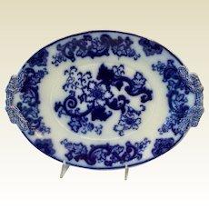 Flo Blue Large Antique Platter