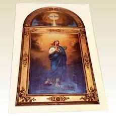 Catholic Listen To Me Prayer Card