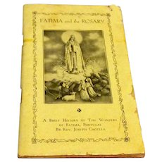 Fatima And The Rosary Prayer Book