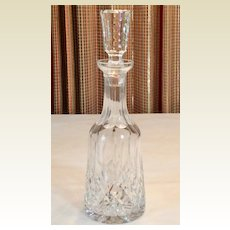 Vintage American Glass Decanter