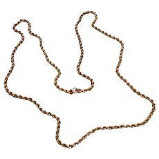 """14K Gold Filled Rope Chain 30"""""""