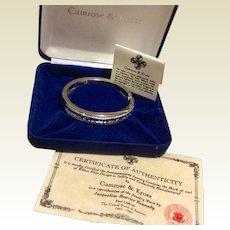 Jackie Kennedy Blue Sapphire Bracelet Camrose & Kross