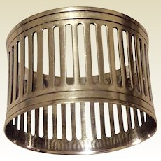 Vintage Silverplate Napkin Ring