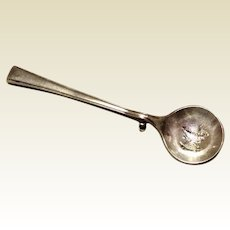 Vintage Sterling Silver Fine Arts Spoon Brooch