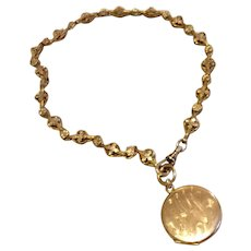 Victorian Gold Filled Bookchain Necklace