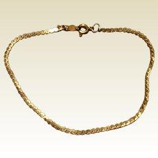 Vintage 12K Gold Filled Speidel Bracelet