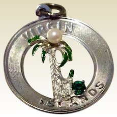 Vintage Sterling Silver Virgin Islands Charm