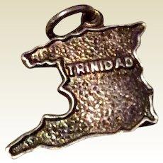 Vintage Sterling Silver Trinidad Souvenir Charm