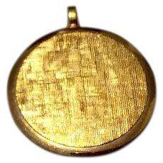 Vintage Van Dell 12K Gold Filled Pendant