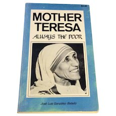 1960 Mother Teresa Always The Poor Jose Luis Gonzalez - Balado
