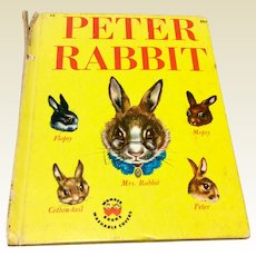 1947 Wonder Books The Tale Of Peter Rabbit
