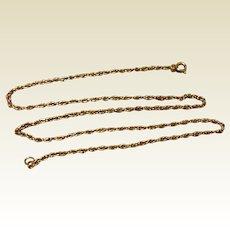 """Vintage 12K Gold Filled 18"""" Chain"""