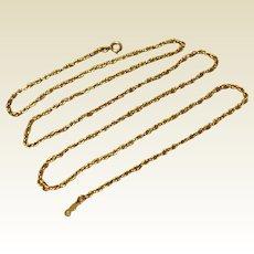 """Vintage 14K Gold Filled 24"""" Chain"""