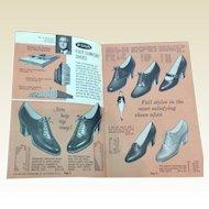 Vintage 1930's Dr. School's Foot Comfort & Copeg Shoes Catalog Folder