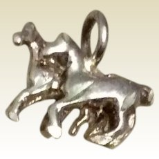 Sterling Silver Mare & Colt Charm