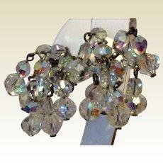 Aurora Borealis Sparkling Dangle Earrings