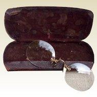 68aacff8e5 Vintage Gold Filled Rimmed Wire Eye Glasses   Best Kept Secrets ...