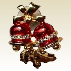 Christmas Bell Lapel Pin