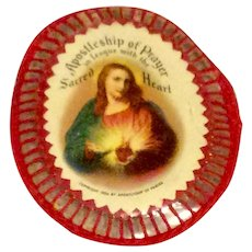 1936 Apostleship Of Prayer Scapular